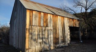 Old Barn at South Llano River State Park