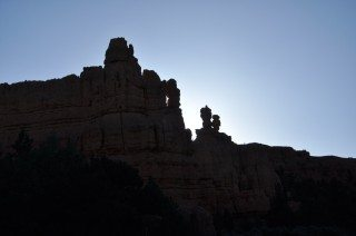 Red Canyon in Early Morning Light