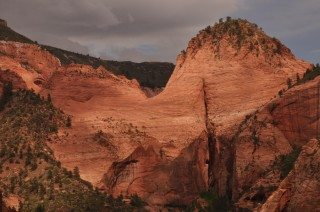 Late Afternoon in Kolob Canyon