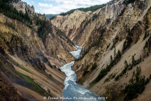 Yellowstone River Below the Lower Falls