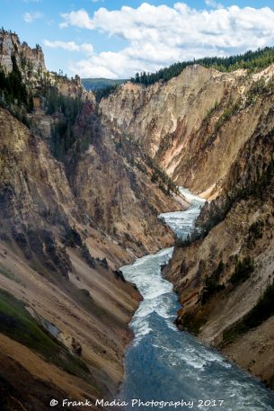 Yellowstone River Below the Lower Falls – Profile
